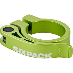 Sixpack Menace Morsetto per reggisella Ø34,9mm, verde
